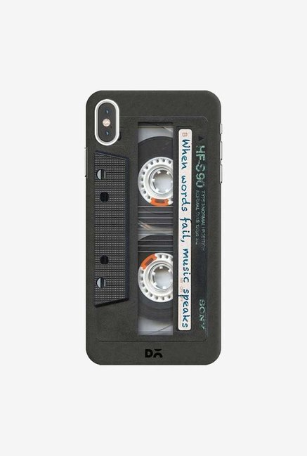 DailyObjects Sony Cassette Case Cover For iPhone XS Max