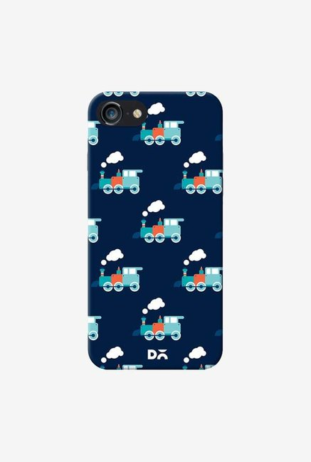 DailyObjects Little Train Blue Case Cover For iPhone 8
