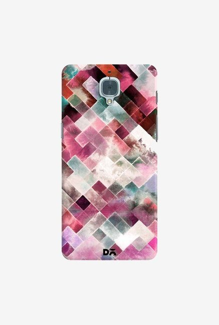 DailyObjects Moody Geometry Pink Case Cover For OnePlus 3T
