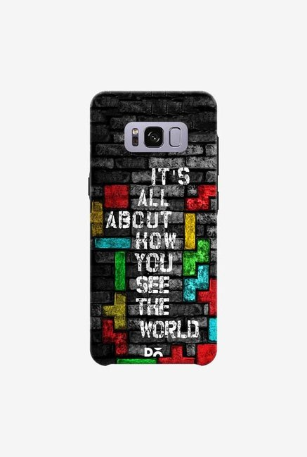 DailyObjects How You See The World Case For Samsung Galaxy S8