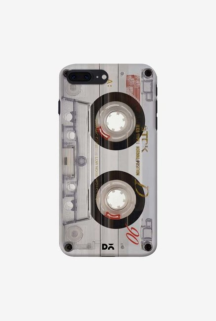 DailyObjects Transparent Cassette Case For IPhone 7 Plus