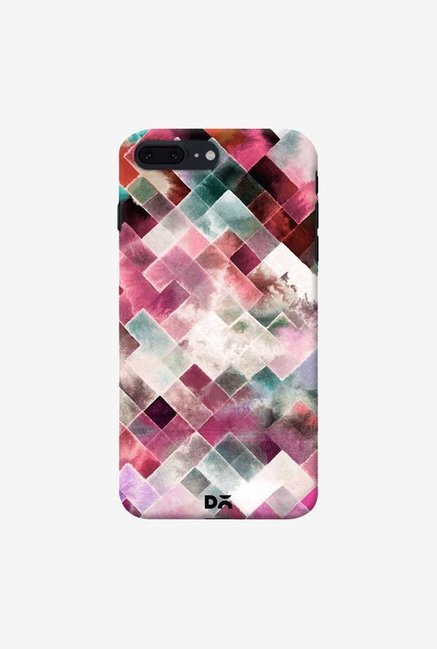 DailyObjects Moody Geometry Pink Case Cover For IPhone 7 Plus