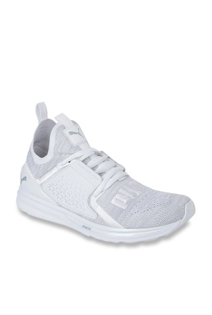 new concept 4b44a 9a080 Buy Puma Ignite Limitless 2 evoKNIT White Running Shoes ...