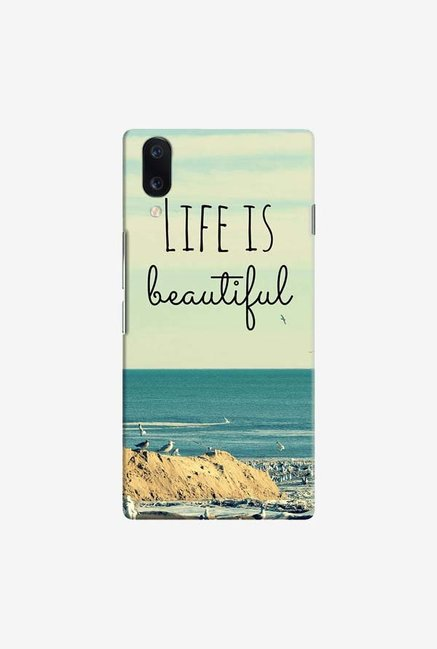 DailyObjects Life Is Beautiful Case Cover For Vivo V11 Pro