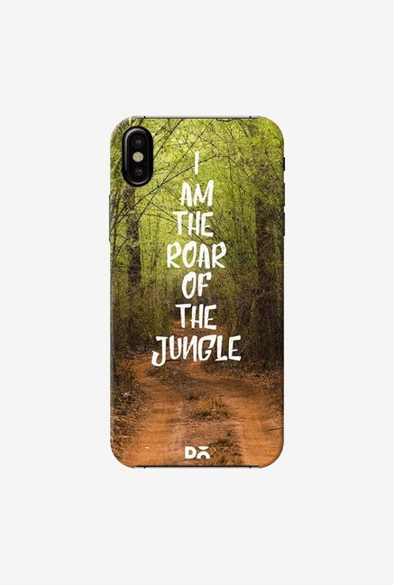 DailyObjects Roar Of The Jungle Case Cover For iPhone XS