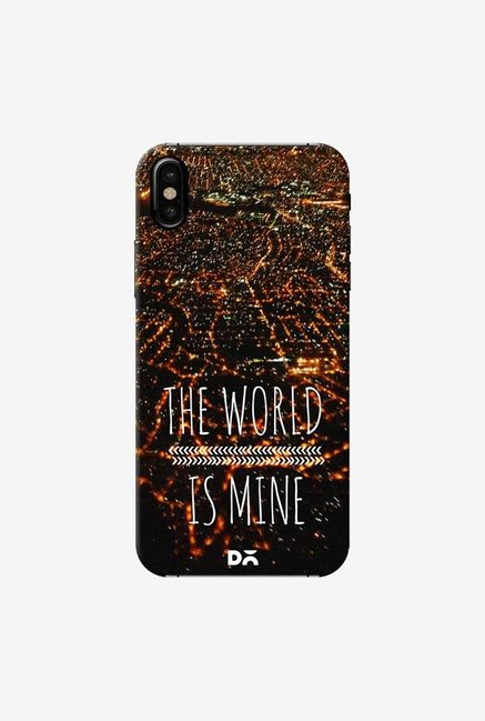 DailyObjects The World Is Mine Case Cover For iPhone XS