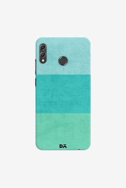 DailyObjects Three Stripes Teal Case Cover For Huawei Honor 8X
