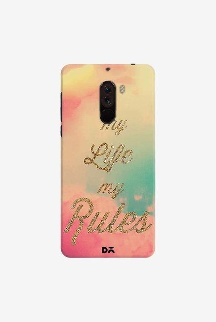 DailyObjects My Life My Rules Case Cover For Xiaomi Poco F1