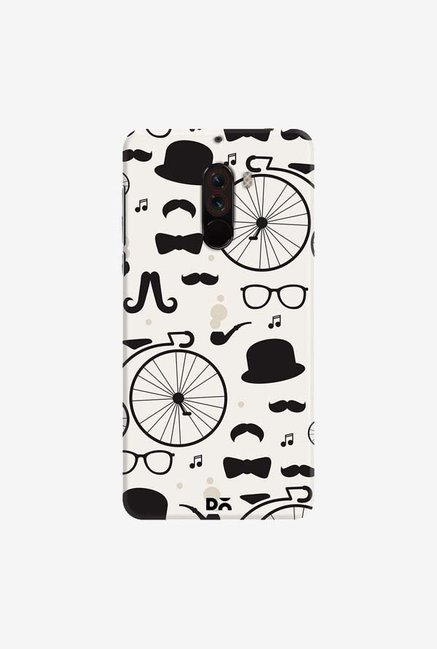 DailyObjects Hipster icons Case Cover For Xiaomi Poco F1