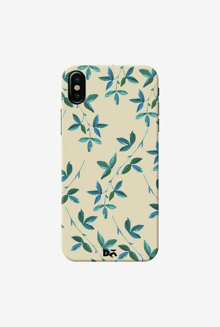 DailyObjects Green Vines Case Cover For iPhone XS