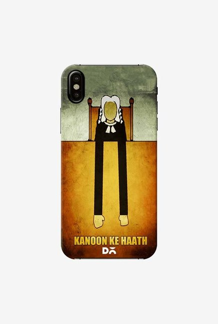 DailyObjects Kanoon Ke Haath Case Cover For iPhone XS