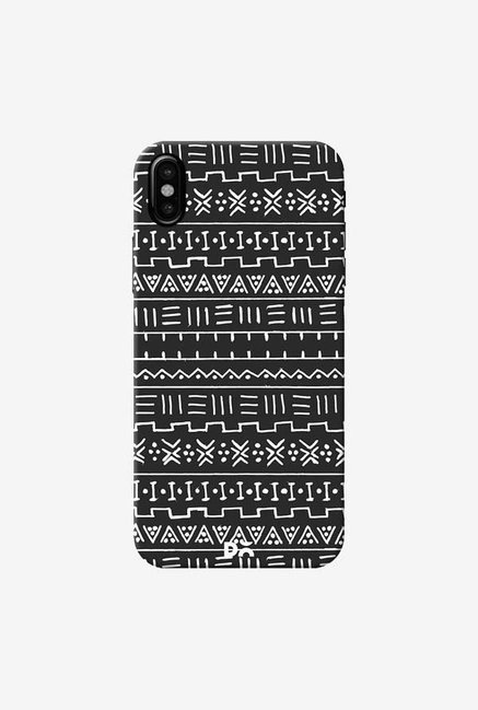 DailyObjects African Minimal B And W Case Cover For iPhone XS