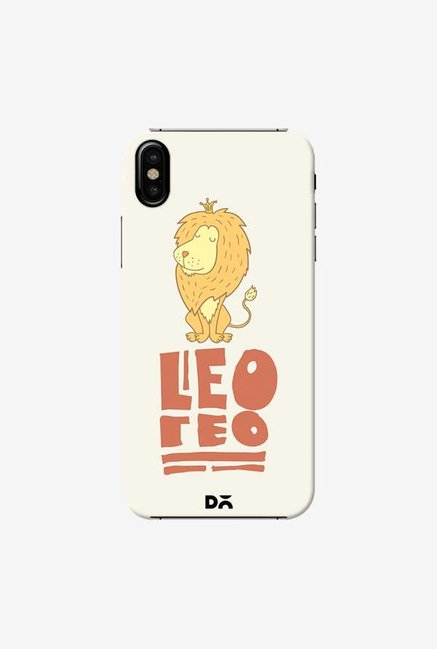 DailyObjects Leo Case Cover For iPhone XS