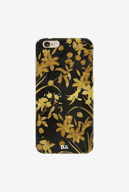 DailyObjects Golden Flowers 2 Case Cover For iPhone 6 Plus