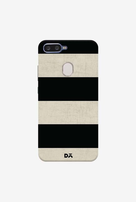 DailyObjects Vintage Black Stripes Case Cover For Oppo F9