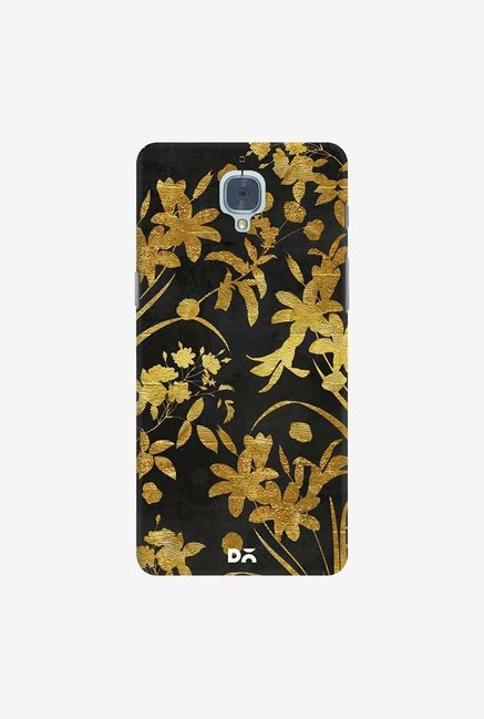 DailyObjects Golden Flowers 2 Case Cover For OnePlus 3T