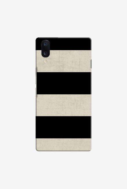 DailyObjects Vintage Black Stripes Case Cover For Vivo V11 Pro