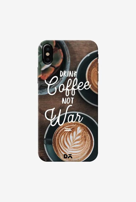 DailyObjects Coffee Not War Case Cover For iPhone XS