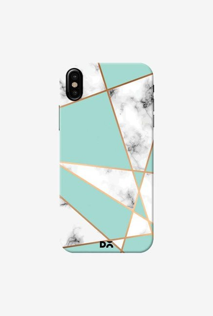 DailyObjects Marble Gold Stripe Case Cover For iPhone XS