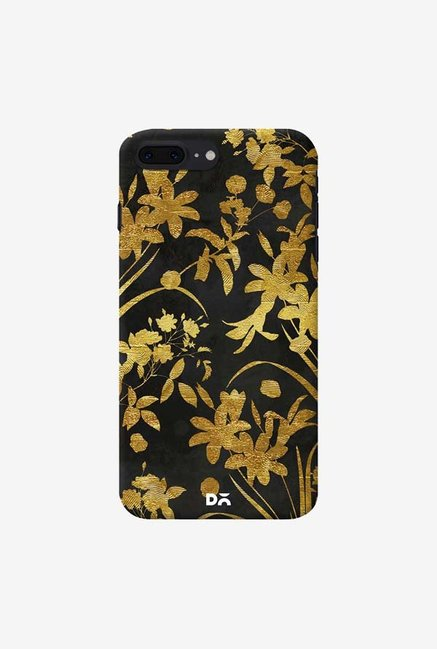 DailyObjects Golden Flowers 2 Case Cover For iPhone 8 Plus