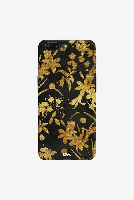 DailyObjects Golden Flowers 2 Case Cover For OnePlus 5