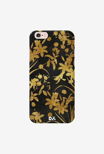 DailyObjects Golden Flowers 2 Case Cover For iPhone 6S