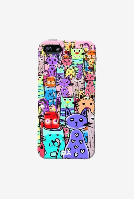 DailyObjects Cat Mess Final Case Cover For iPhone 5/5S