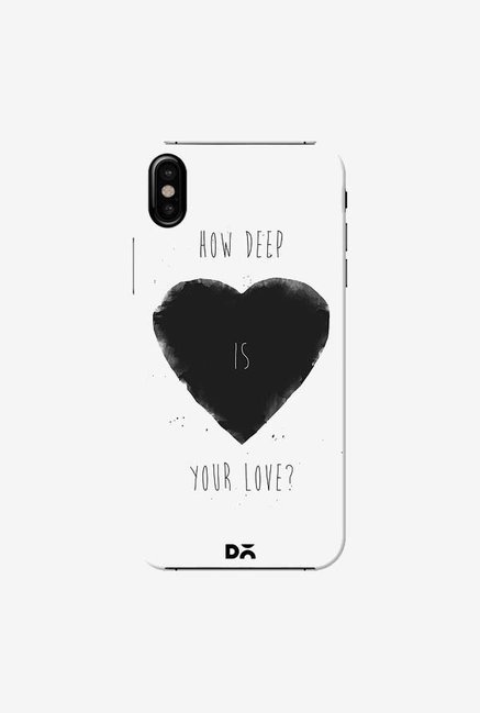 DailyObjects How Deep Is Your Love Case Cover For iPhone XS
