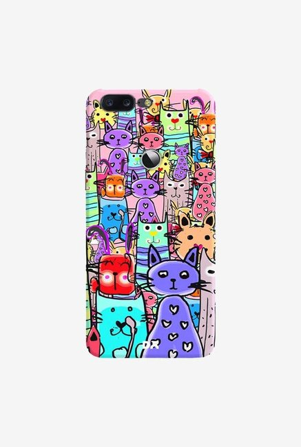 DailyObjects Cat Mess Final Case Cover For OnePlus 5T