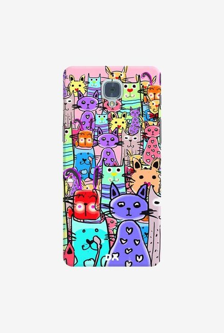 DailyObjects Cat Mess Final Case Cover For OnePlus 3T