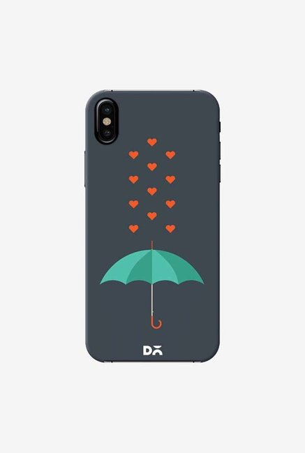 DailyObjects Its Raining Hearts Case Cover For iPhone XS