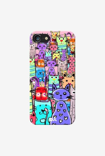 DailyObjects Cat Mess Final Case Cover For iPhone 7