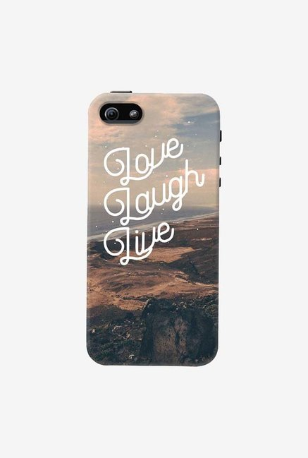 DailyObjects Love Laugh Live Case For iPhone 5/5S