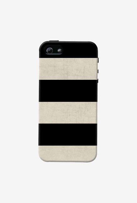 DailyObjects Vintage Black Stripes Case For iPhone 5/5S