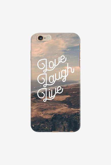 DailyObjects Love Laugh Live Case For iPhone 6 Plus