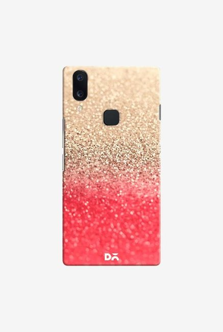 DailyObjects Gatsby Coral Gold Case Cover For Vivo V11
