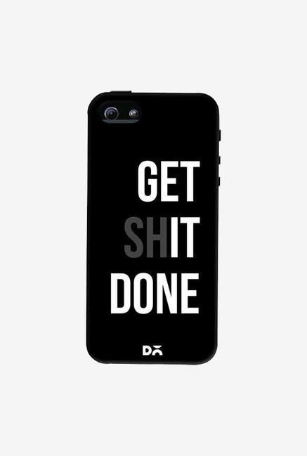 DailyObjects Get Shit Done Case Cover For iPhone 5/5S