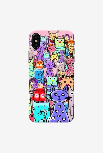 DailyObjects Cat Mess Final Case Cover For iPhone X
