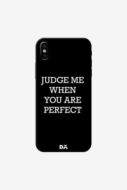 DailyObjects Judge Me Case Cover For iPhone XS