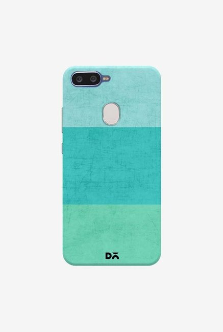 DailyObjects Three Stripes Teal Case Cover For Oppo F9 Pro
