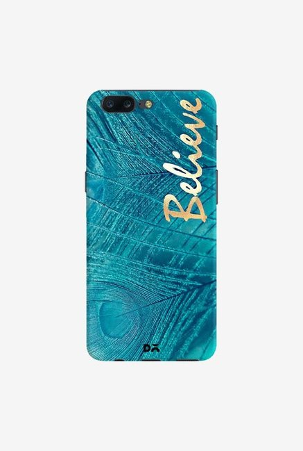 DailyObjects Believe In Aqua Case Cover For OnePlus 5
