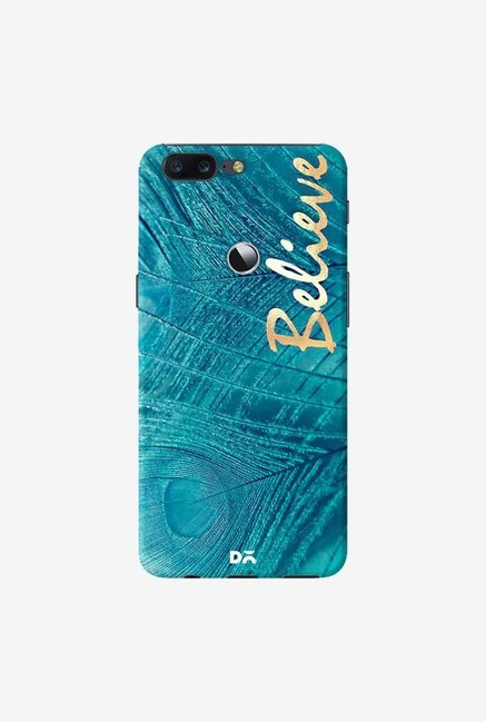 DailyObjects Believe In Aqua Case Cover For OnePlus 5T