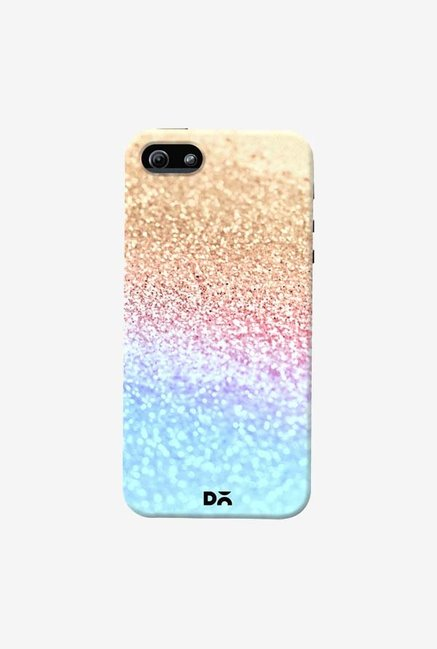 DailyObjects Moonshine Gold Glitter Case Cover For iPhone 5/5S