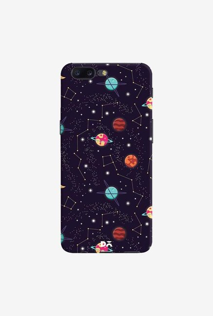 DailyObjects Universe Galaxy Pattern 4 Case Cover For OnePlus 5