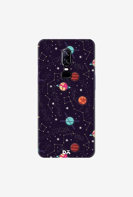 DailyObjects Universe Galaxy Pattern 4 Case Cover For OnePlus 6