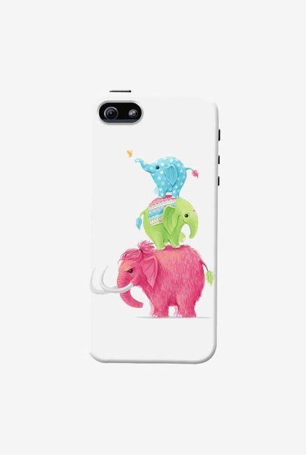 DailyObjects Candy Elephants Case For iPhone 5/5S