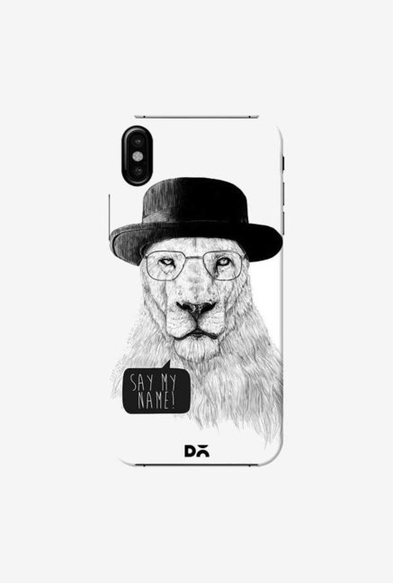 DailyObjects Say My Name Case Cover For iPhone XS