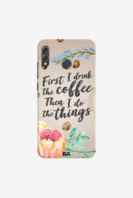 DailyObjects I Drink Coffee Case Cover For Huawei Honor 8X