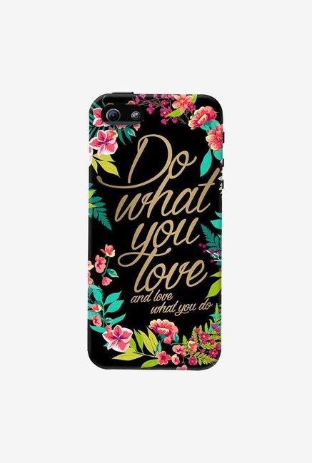 DailyObjects And Love What You Do Case For iPhone 5/5S