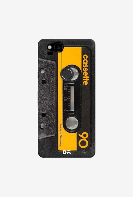 DailyObjects Cassette Yellow Case Cover For Google Pixel 2